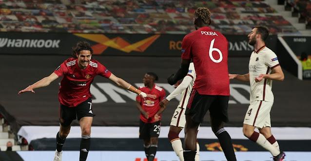 ملخص واهداف مباراة مانشستر يونايتد وروما (6-2) الدوري الاوروبي