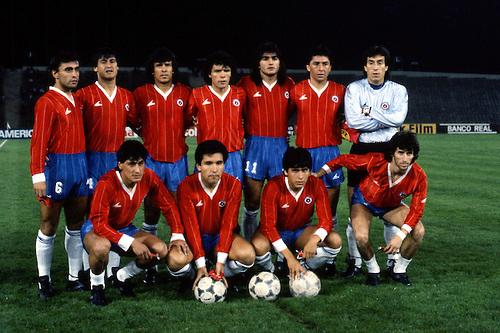 Formación de Chile ante Colombia, Copa América 1987, 8 de julio