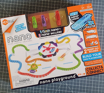 Hexbug Flash nano playground in box