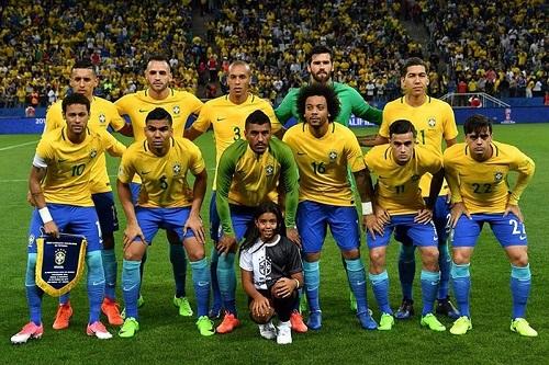 Bộ khung của đội tuyển Brazil không gây bất ngờ đối với giới chuyên gia