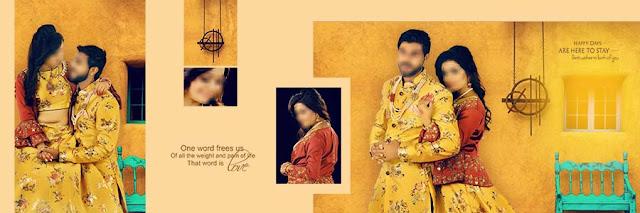 Classic Wedding Photo Album 12x36 DM Pages
