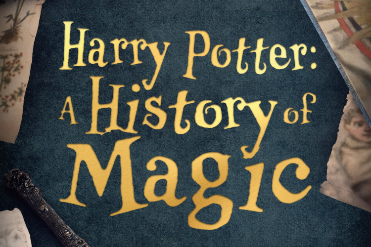 Harry Potter A History of Magic documentary dvd