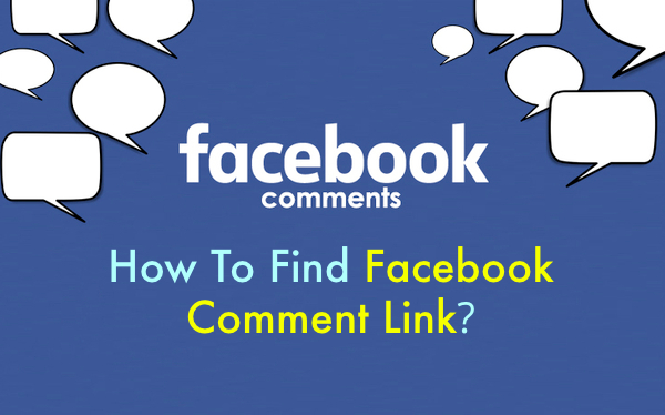 FIND FACEBOOK COMMENT URL