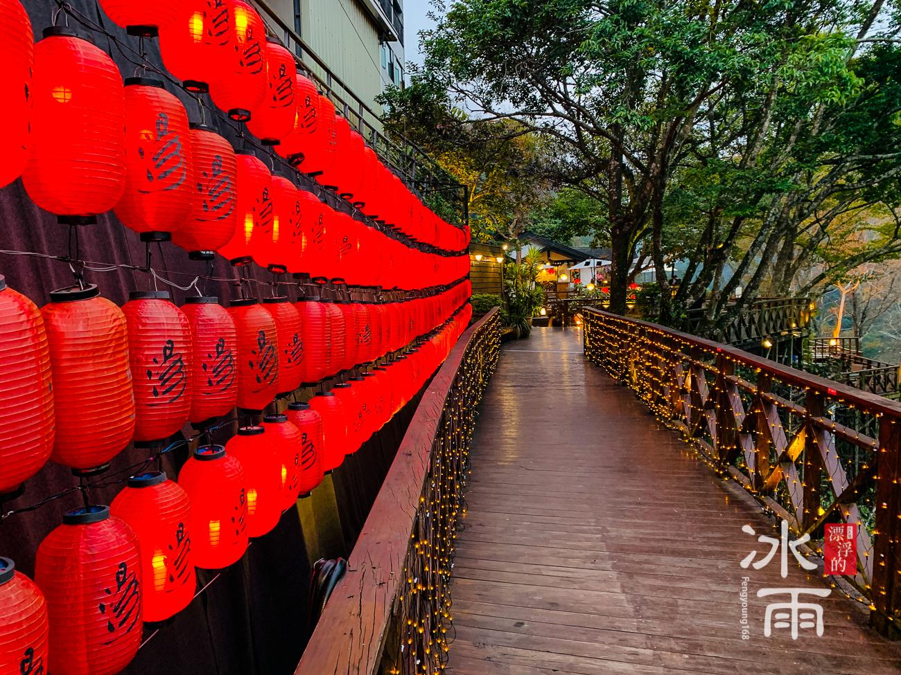 泰安湯悅溫泉會館|戶外通道