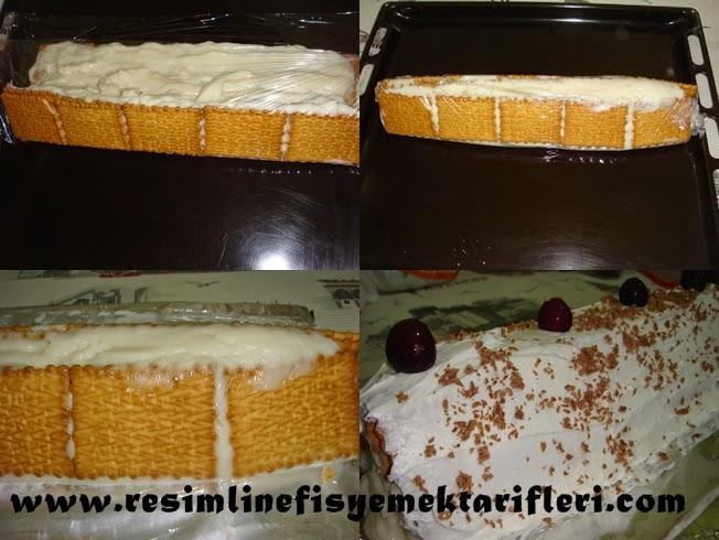 elmalı pasta tarifi resimli