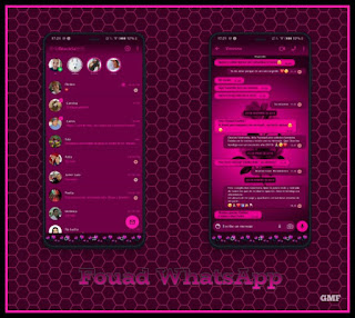 Rosas Theme For YOWhatsApp & Fouad WhatsApp By Graciela