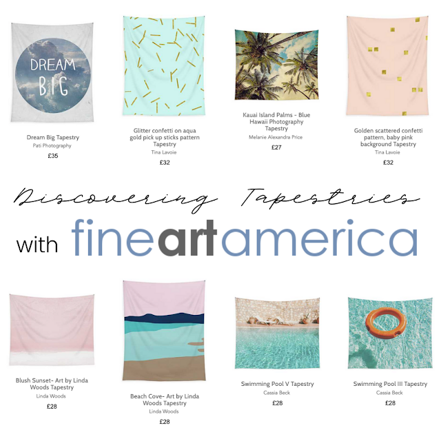 Level Up Your Interiors: Tapestries & Wall Hangings from Fine Art America*