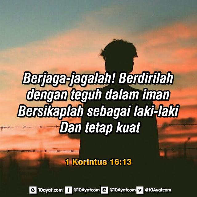 1 Korintus 16:13