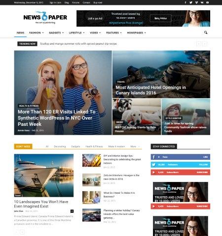 16 Best AdSense Optimized WordPress Blogging Themes | TricksRoad ...