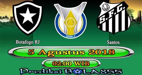 Prediksi Bola855 Botafogo RJ vs Santos 5 Agustus 2018