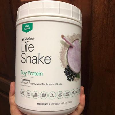 Life Shake Elderberry Produk Baru Shaklee