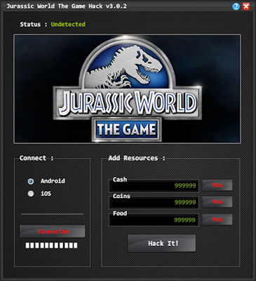 Jurassic World The Game Hack v3.0.2