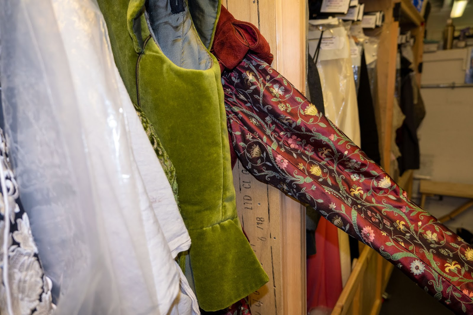 Royal Shakespeare Company costumes at The Marlowe Theatre, Canterbury