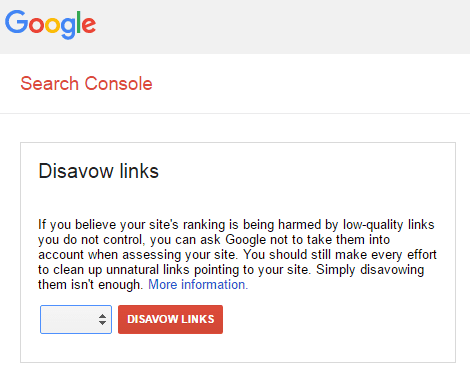 Google updates Penguin Disavow links