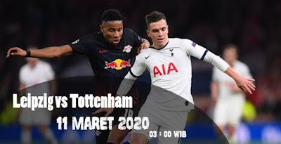 Prediksi Bola Leipzig vs Tottenham Hotspur 11 Maret 2020 Terbaik
