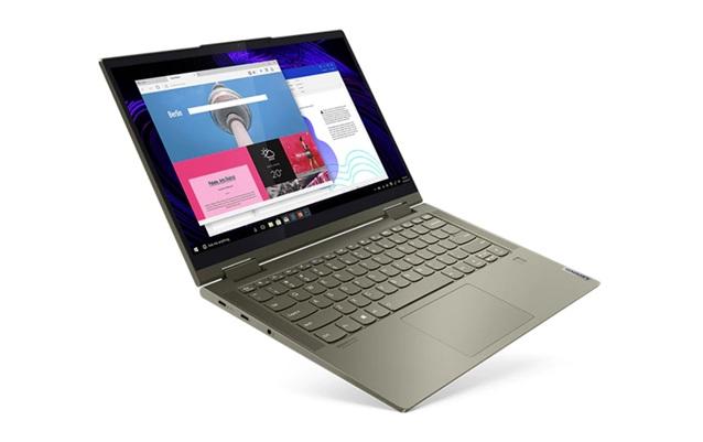 Lenovo Yoga 7i 14ITL5: convertible de 14'' con procesador Core i7, disco SSD y Windows 10 Pro preinstalado