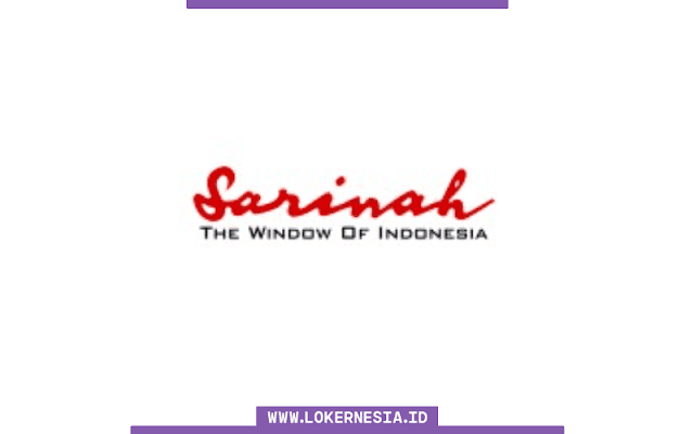 Lowongan Kerja BUMN PT Sarinah (Persero) September 2021
