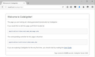 Membuat Website/Blog dengan Codeigniter PHP Framework