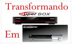 SUPERBOX PRIME 2 HD EM DUOSAT BLADE HD BLACK SERIES NOVA ATUALIZAÇÃO MODIFICADA (USB) - 15/07/2017