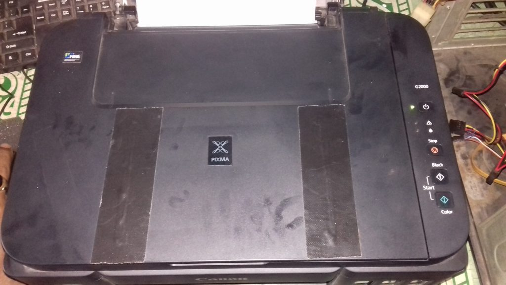 Cara Baru reset Printer Canon G2000 error 5B00 - Kang Bedol