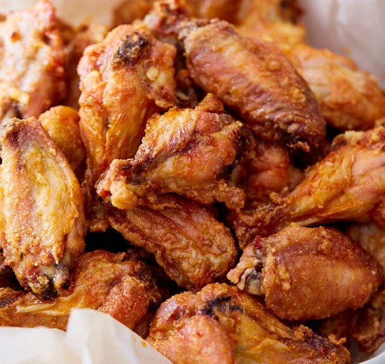 Baked Chicken Wings – Extra Crispy