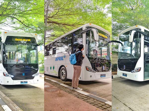 Bus Listrik dan Kontribusi Grup APRIL dalam Menghadapi Krisis Iklim