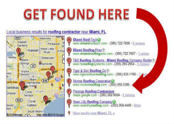 Google local places Map-based company listings-350x250