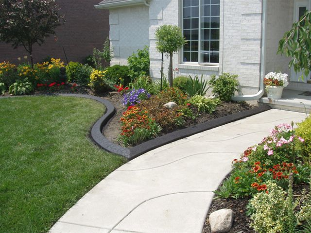 If You Want To Make The Landscaping Of Your Property Stand Out One Sure Way Do So Is Add Some Color Or Design Pattern Concrete