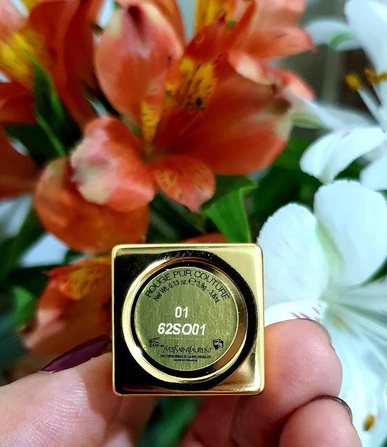 Son lì dưỡng ẩm Rouge Pur Couture Lipstick, YSL, Hàng nội địa Mỹ