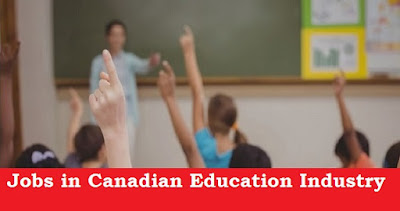 Jobs in the Canadian Education Industry
