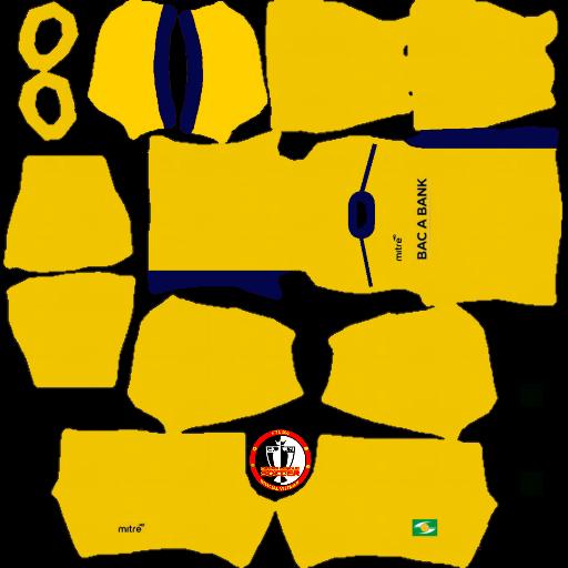 Kits Sông Lam Nghệ An 2020 Dream League Soccer 2021