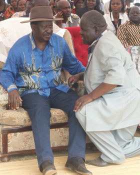 Shocking Details Of Raila's Hand In Cyprian Awiti's Political Resuscitation