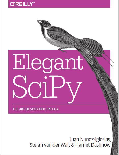 Elegant Scipy. O'reilly