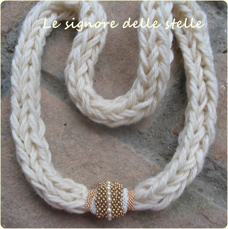 Molto le signore delle stelle: Collane di lana VB53