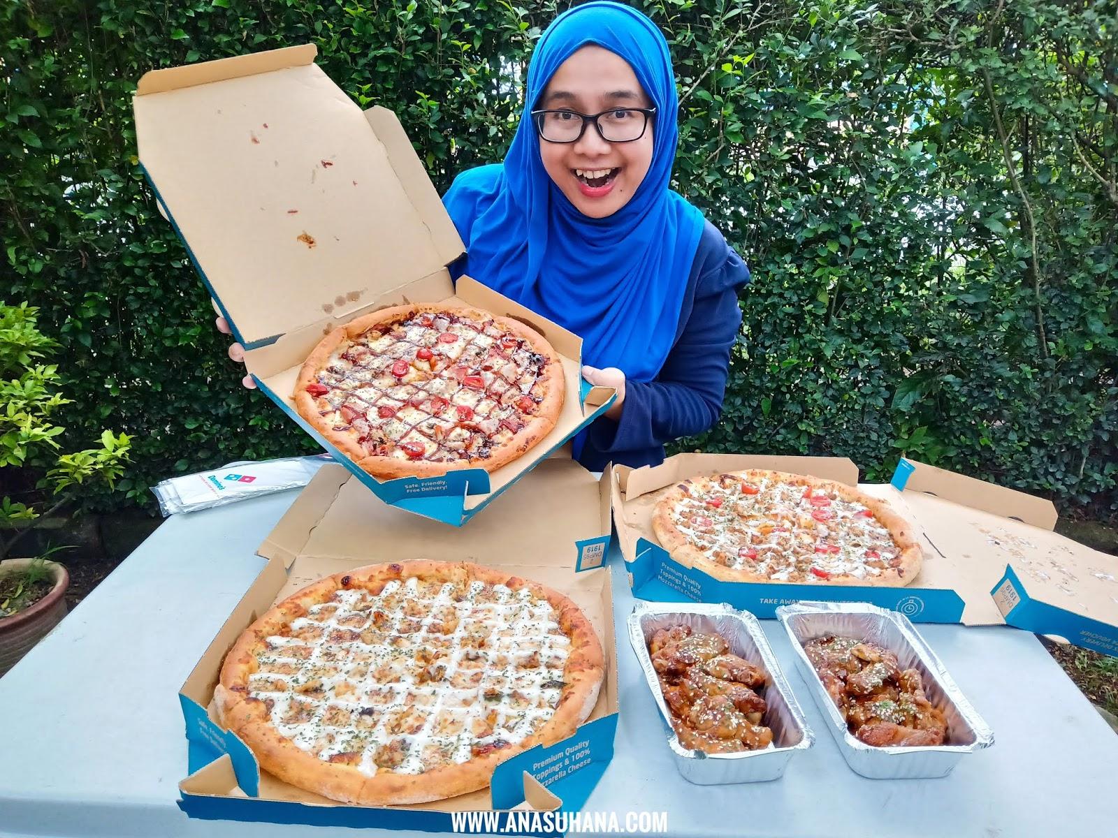 Piza Ssamjeang Domino's Kembali Lagi Dengan 3 Menu So Spicy So Drama