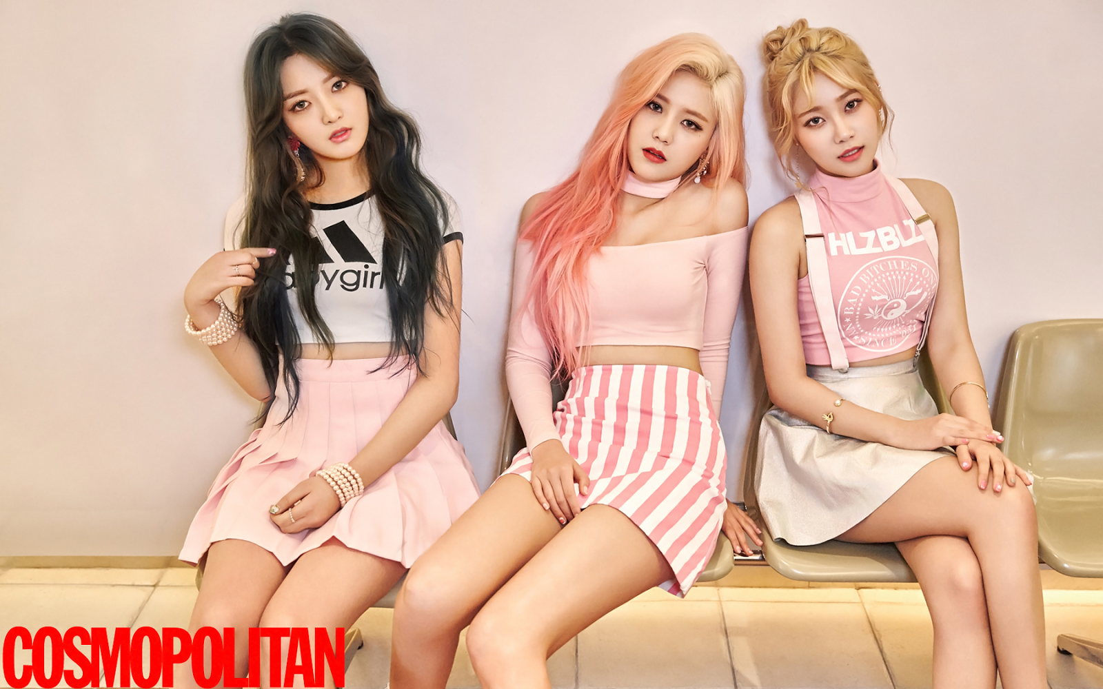 AOA Cream Korean Girl Group