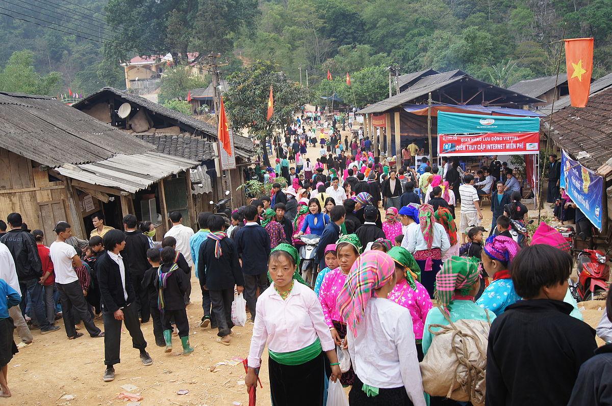 Le marché de l'amour Khau Vai à Ha Giang