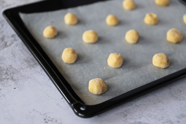 Προετοιμασία για Γεμιστά Μπισκότα Καραμέλας