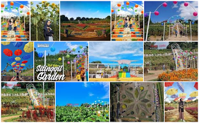 Sitinggil Garden: Wisata Taman Bunga Cepogo Boyolali