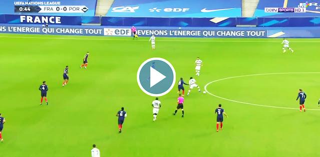 France - Portugal Live Score