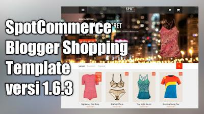 Template SpotCommerce v1.6.3 Gratis
