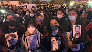 Colegio de Periodistas de Chile marcha para homenajear a las y los periodistas asesinados durante la dictadura cívico-militar.