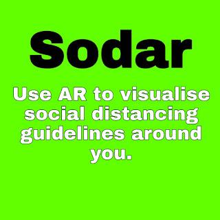 Google आपको AR ऐप, सोदर के साथ सामाजिक दूरियां बनाए रखने में मदद करना चाहता है