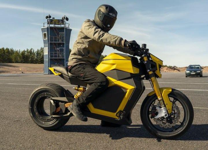 Xe máy điện Verge TS 2020 đổi tên, tăng mô-men xoắn