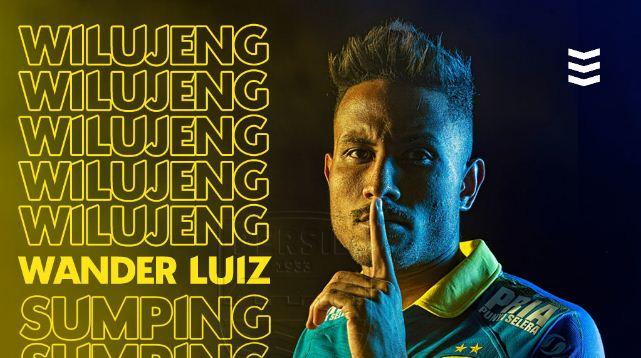Resmi, Persib Bandung Kontrak Wander Luiz