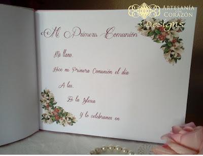 libros firmas comunion