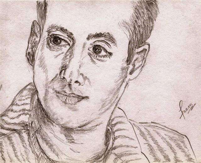 Sketch of Salman Khan