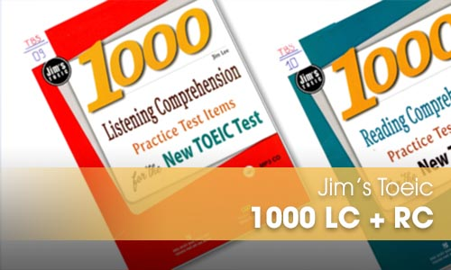 Jim's Toeic 1000 LC + RC: Tài liệu luyện thi Toeic 700+, 800+