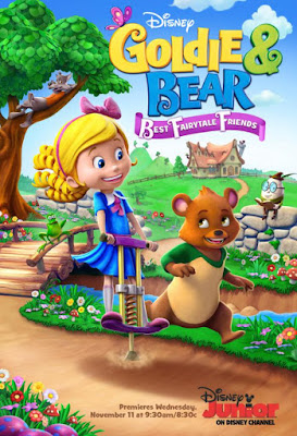 Goldie & Bear Best Fairytale Friends 2018 DVD R1 NTSC Latino