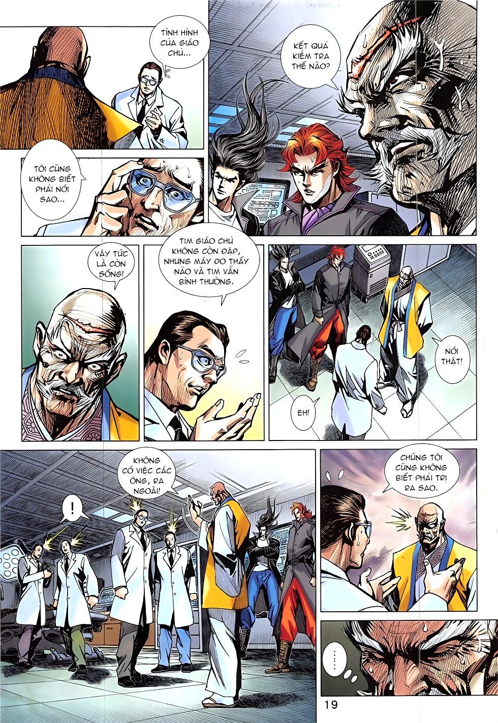 Tân Tác Long Hổ Môn Chap 837 page 19 - Truyentranhaz.net